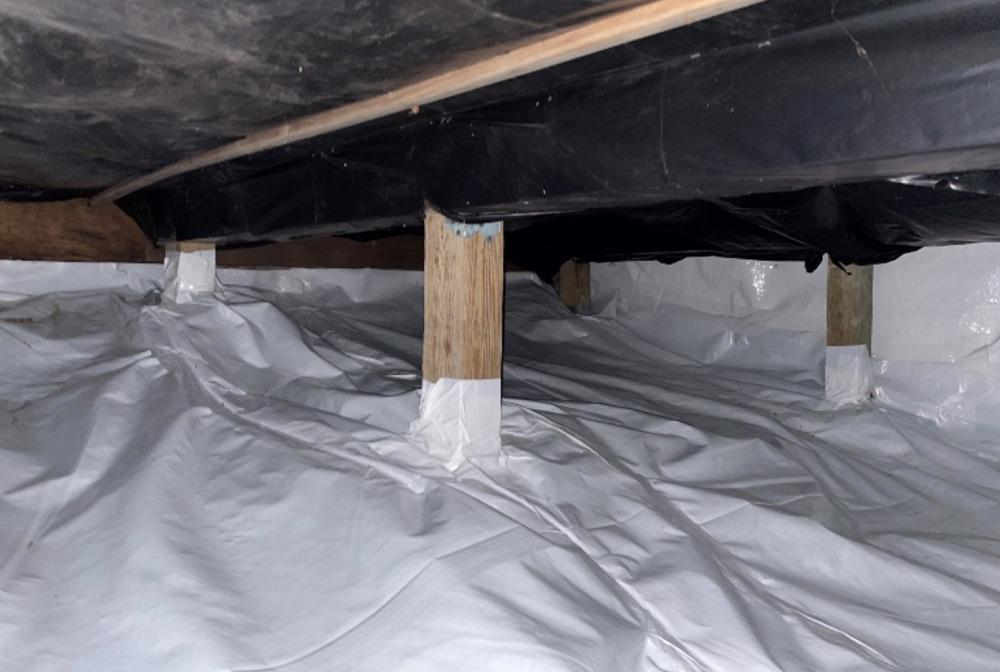 Crawl Space Encapsulation Prevents Structural Damage in Forsyth, MO - After Photo