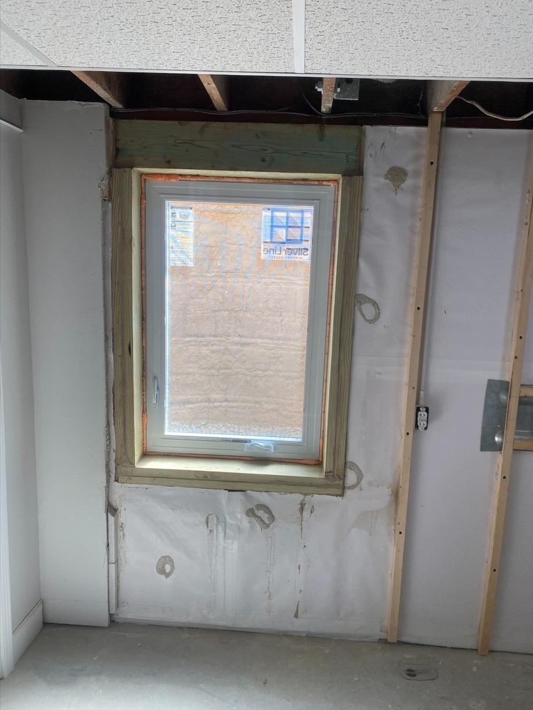 Installation of Egress Window adds Bedroom in Holstein, IA - After Photo