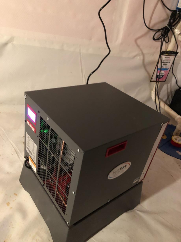New SaniDry Sedona Dehumidifier in Modamin, IA Home - After Photo