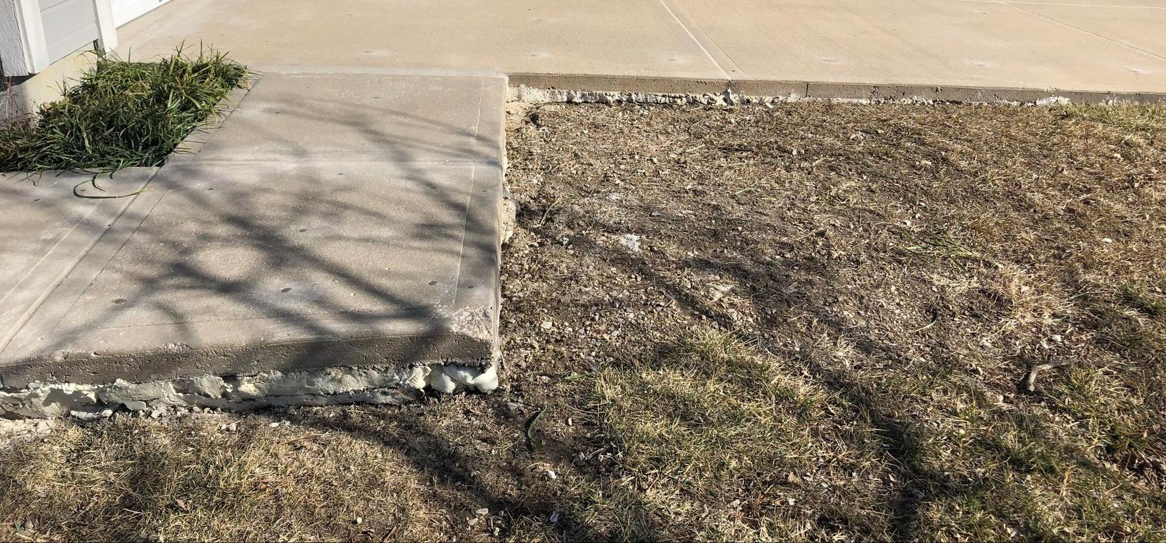 Concrete Repaired in Stilwell, KS - After Photo