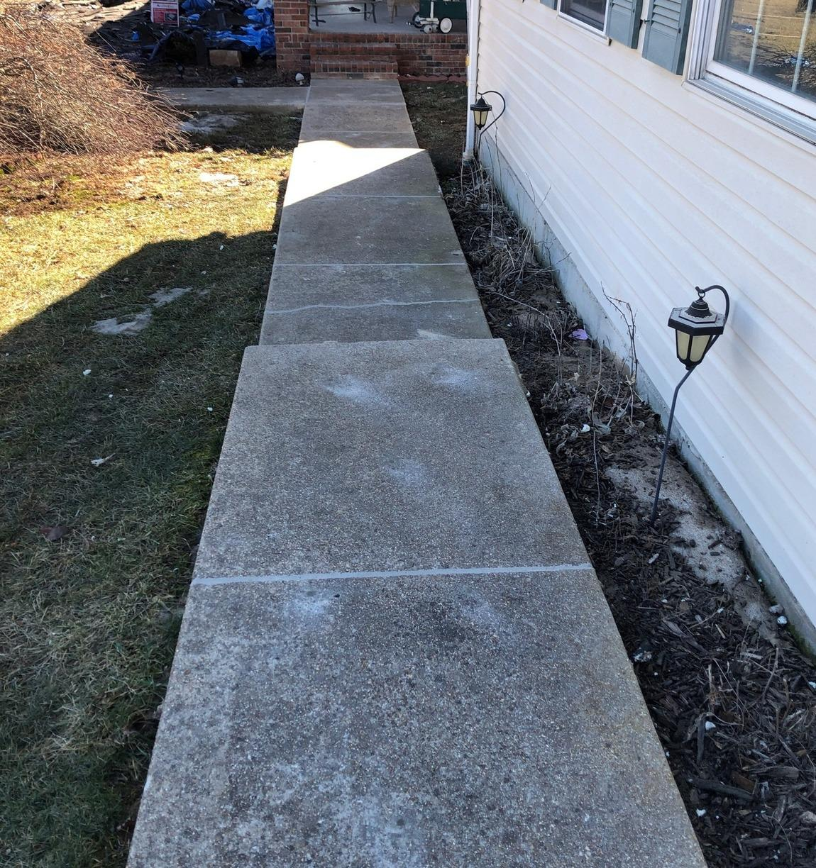 Concrete Repair and Leveling in Waynesville, MO - After Photo