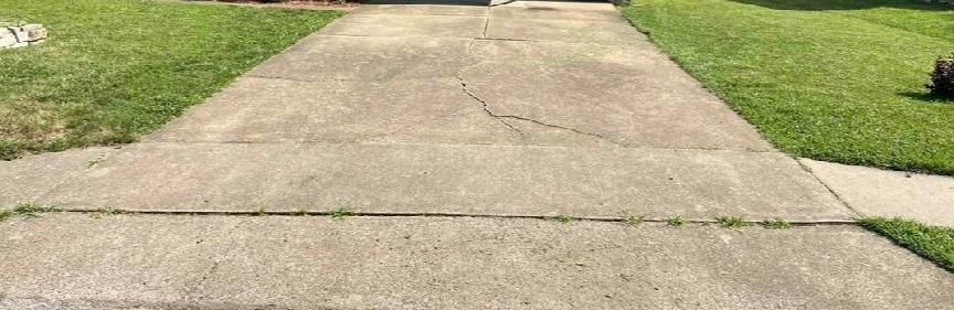 Concrete Repair in Springfield, MO - Before Photo