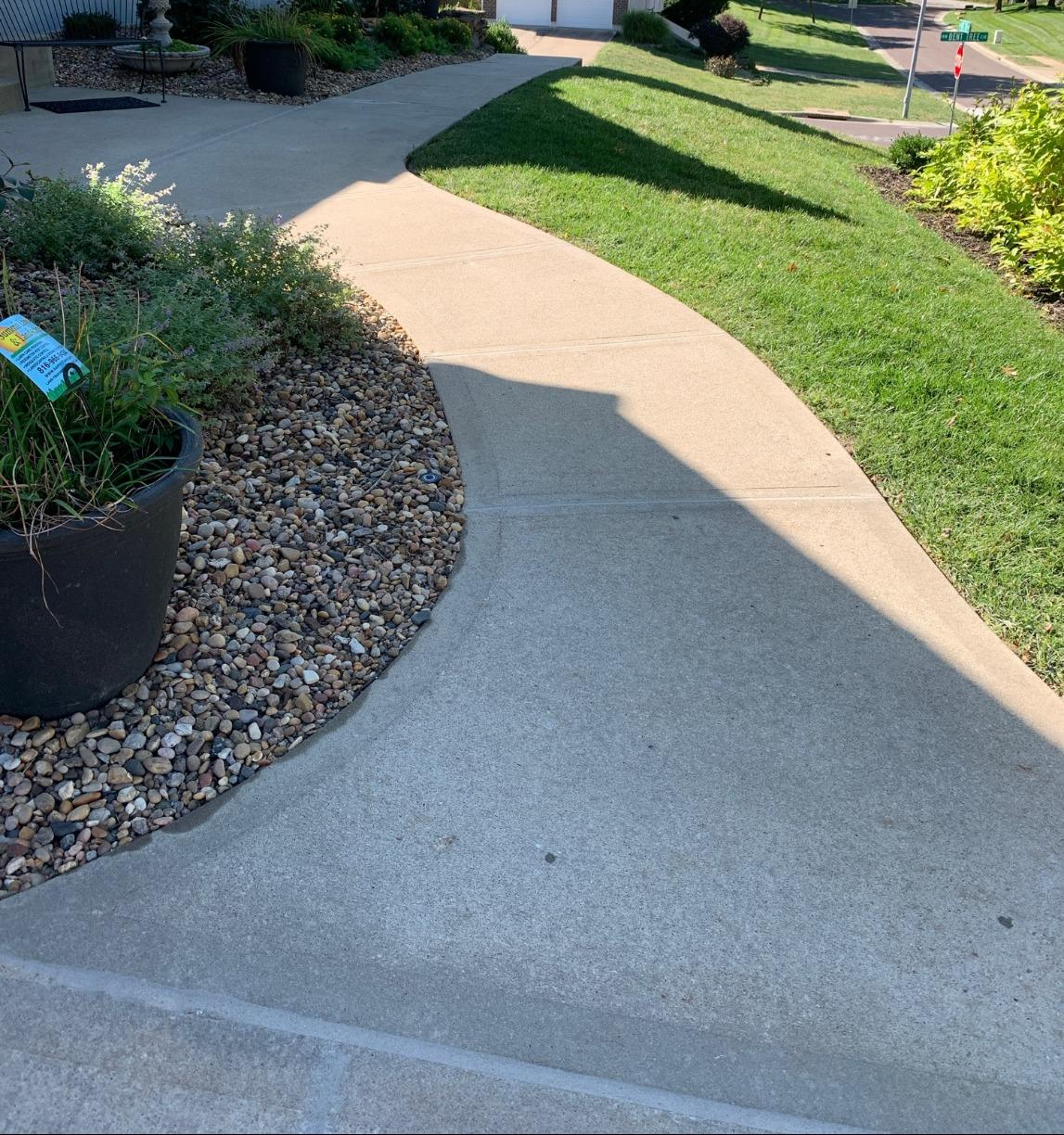 Concrete Repair in Lee's Summit, MO - After Photo