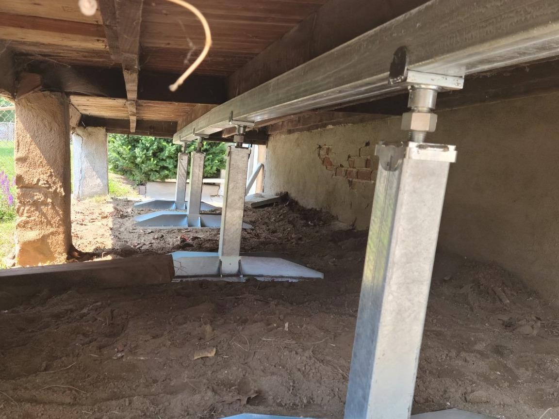 Porch Foundation Repair in Omaha, NE - After Photo