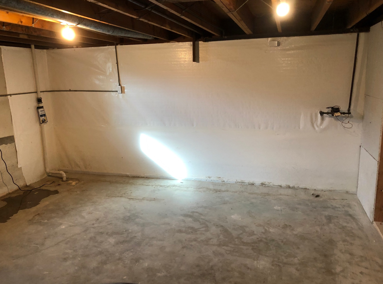 Leaking basement fixed in Independence, MO - After Photo