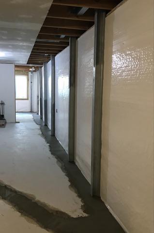 Waterproofing and Egress Window Installation in McPherson, KS
