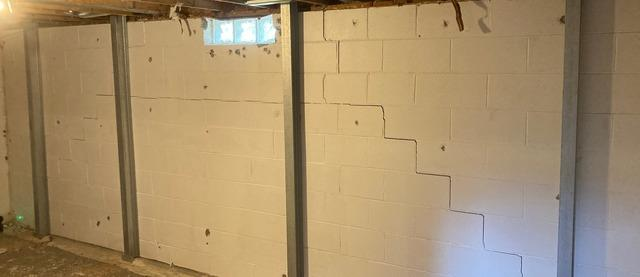 Failing Walls in Shelton, NE Home Fully Stabilized