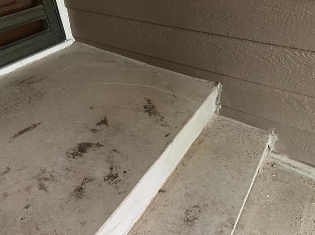 Settled Concrete Repaired in Salina, KS with PolyLevel and NexusPro Joint Sealant