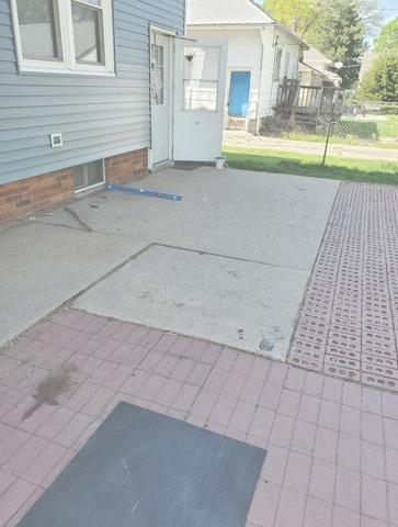 Back Patio, Foundation Wall and Driveway Repaired in Hastings, NE