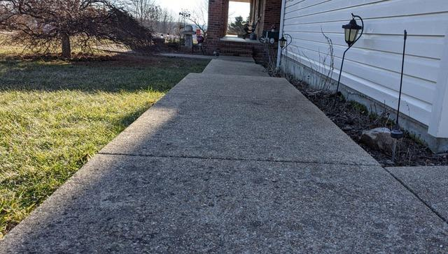 Concrete Repair and Leveling in Waynesville, MO - Before Photo