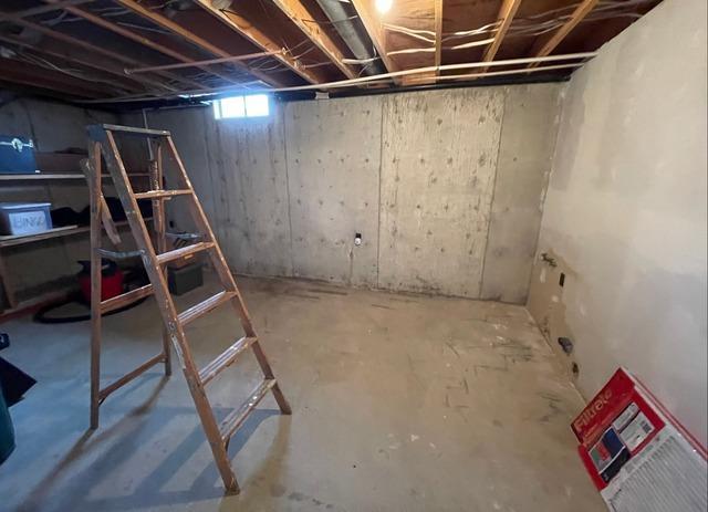Basement Waterproofing System in Hutchinson, KS