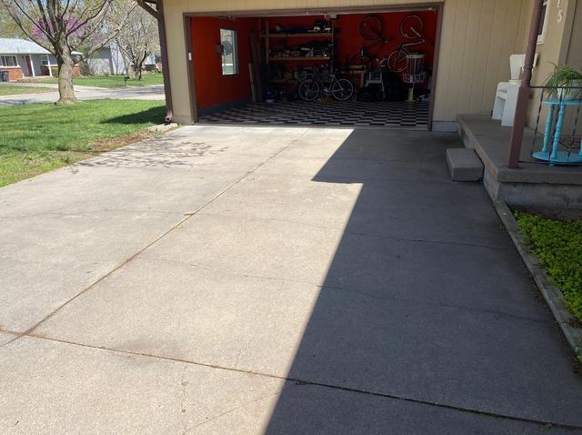 Concrete Driveway Repair in Newtown, KS