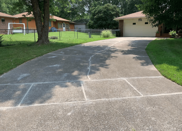 Driveway Repair in Springfield, MO - After Photo