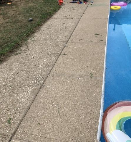 Pool Deck Leveled in Sioux City, IA