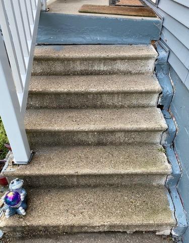 Concrete Step Repair in Omaha, NE