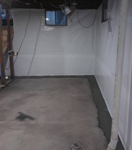Battle Creek, NE Basement waterproofing