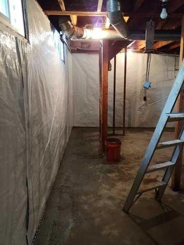 Wet Basement in Coeur d'Alene - After Photo