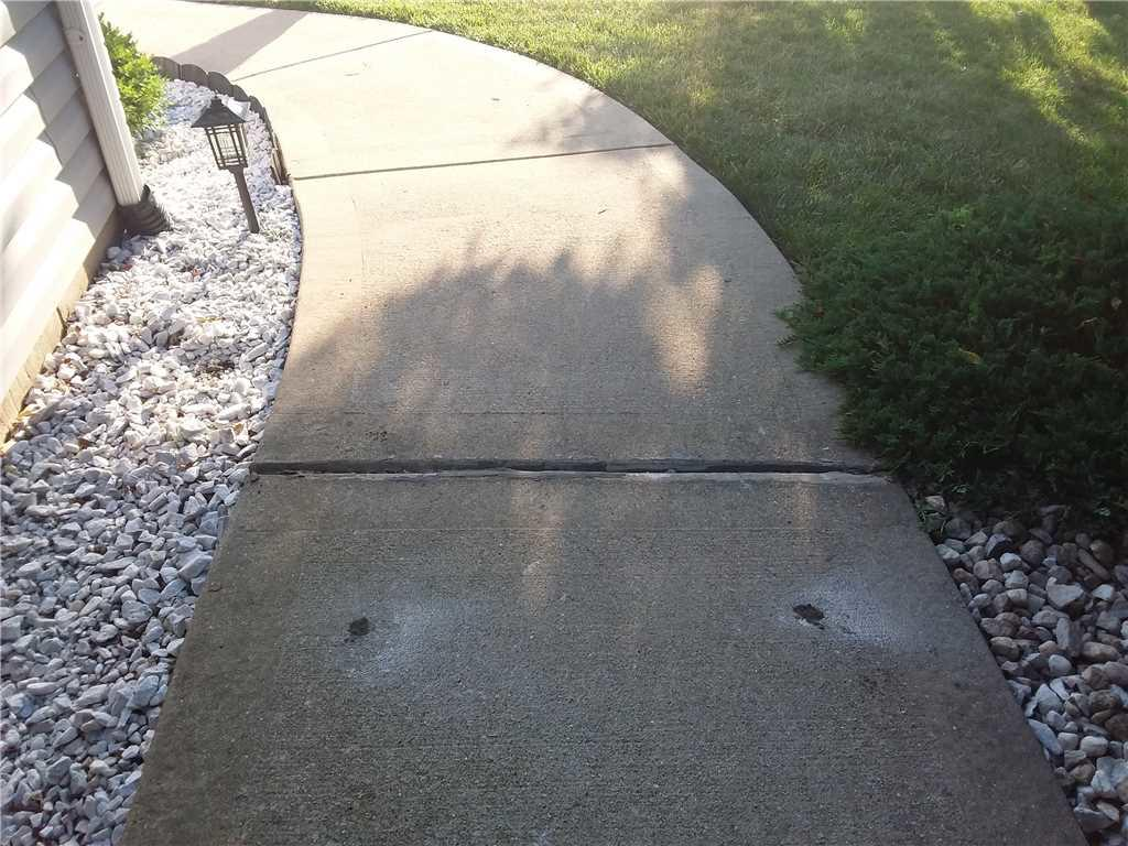 PolyLevel Lifts Walkway in Troy, Illinois - After Photo