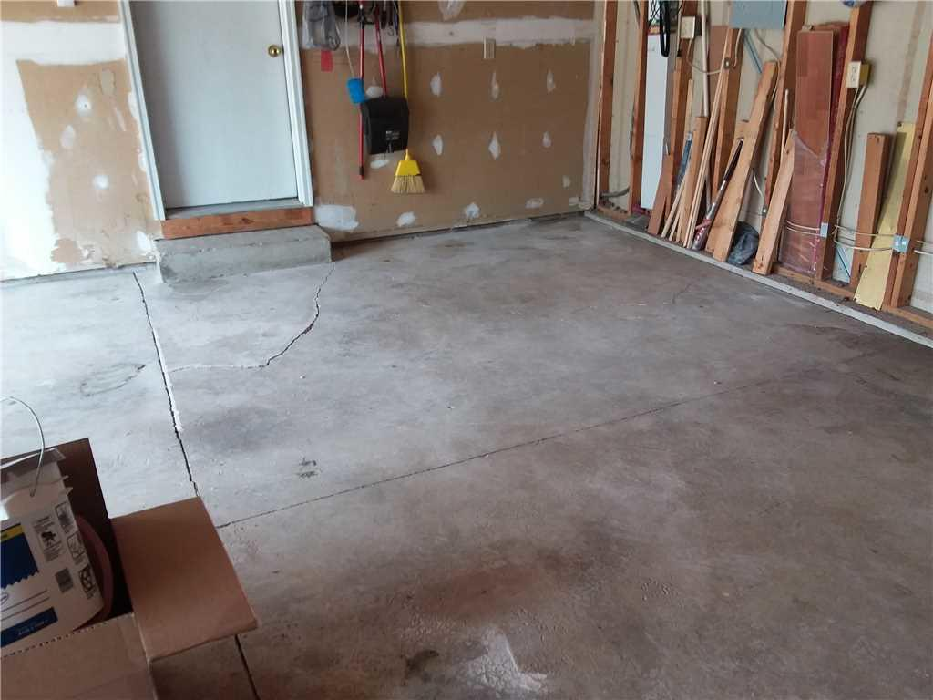 PolyLevel Corrects Quickly Sinking Garage Slab - After Photo