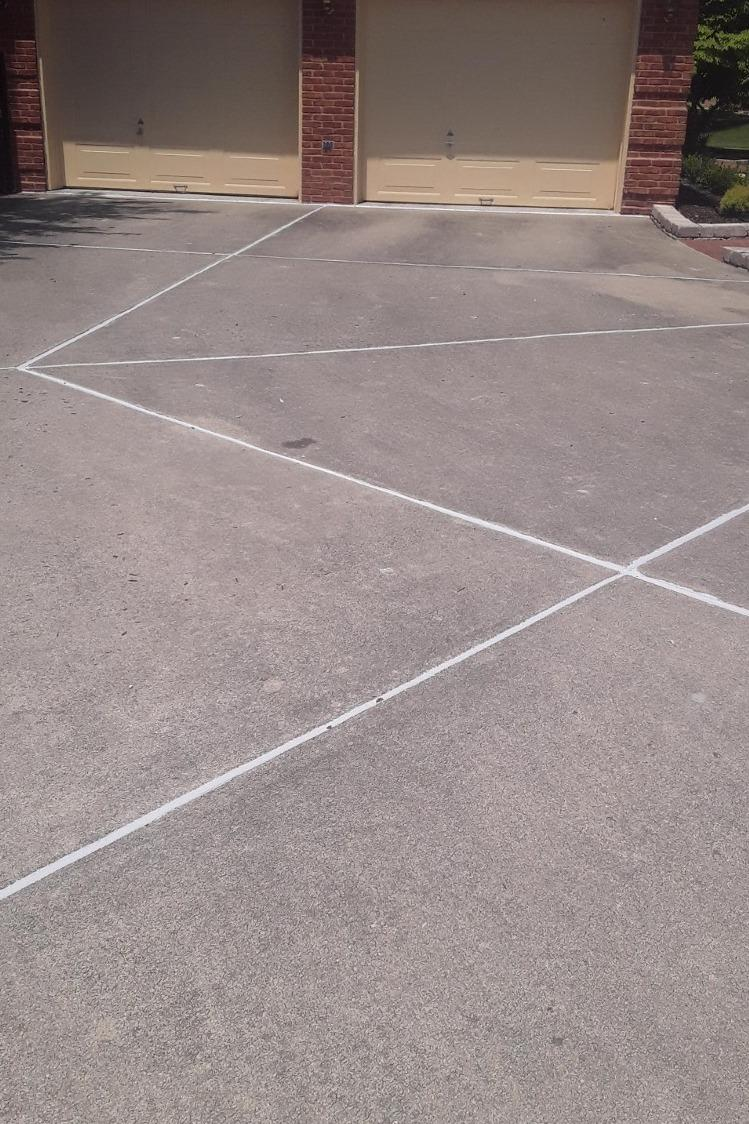 Lifting Concrete Driveway in Henley, MO - After Photo