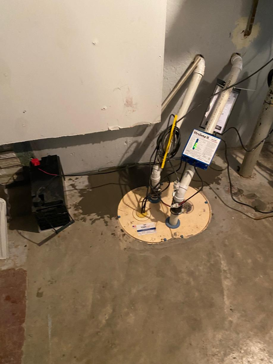 Water Damaged Basement in Sturgeon, Missouri - After Photo