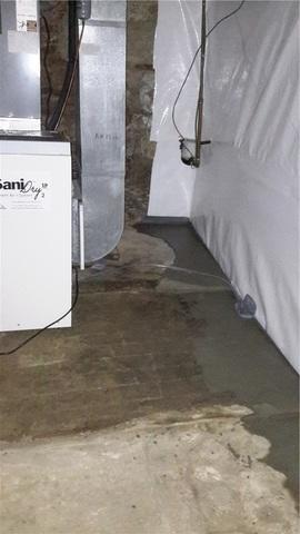 SaniDry Keeps Washington, Missouri Basement Mold Free