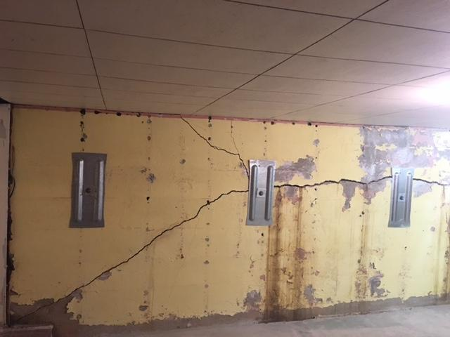 St. Genevieve, Missouri Foundation Supported with Geo-Lock Wall Anchors