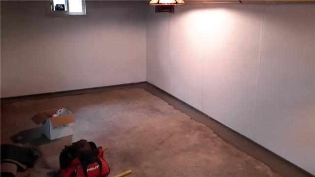BrightWall Installed in Paris, Illinois Basement