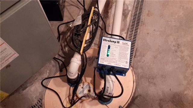 TripleSafe Pumps Alton, Illinois Basement Dry