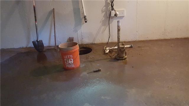 TwinPack Sump Pump System Keeps Florissant, Missouri Basement Dry