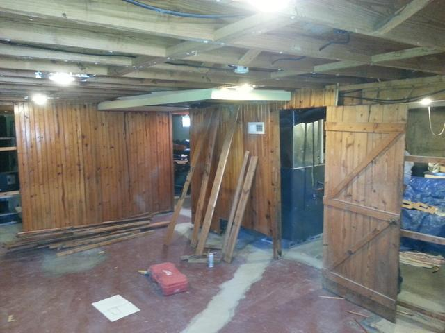 Total Basement Remodel in Gibson City, IL