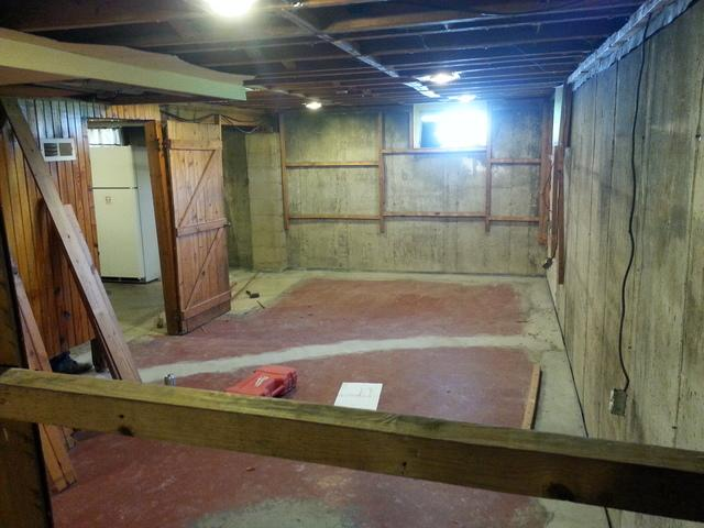 Gibson City, IL Basement Remodel