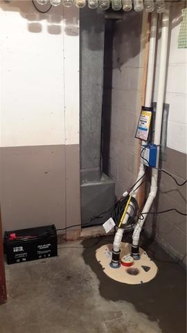 TripleSafe Installed in Cottage Hills, Illinois Basement