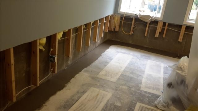 Ladue, Missouri Basement Protected by WaterGuard
