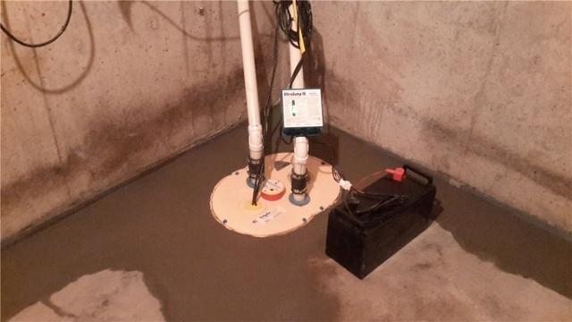 TripleSafe Keeps Basement Dry in Gifford, IL