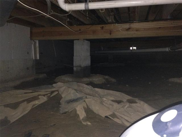 CleanSpace Keeps Crawlspace Dry in Springfield, IL