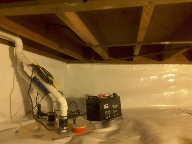 TripleSafe Sump Pump Installation with Crawl Space Encapsulation in Danville, Illinois