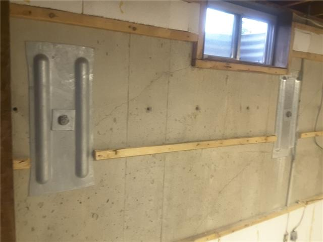 Geo-Lock Wall Anchors Permanently Stabilize Foundation Walls in Stewardson, IL