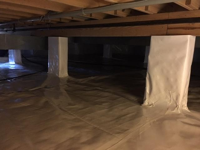 CleanSpace Moisture Barrier installed in Philo, IL
