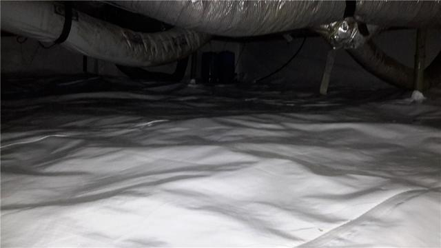Clinton, Illinois Crawl Space Restored with CleanSpace