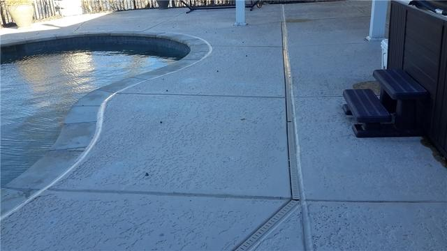 PolyLevel Fixes Pool Walk Way in Lake Saint Louis, Mo - After Photo