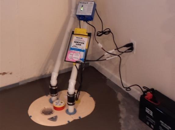 TripleSafe Sump Pump Installation in Florissant, MO