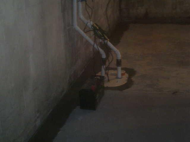 TripleSafe Sump Pump Installed in Ashland, Illinois