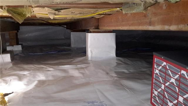 CleanSpace Installation in Red Bud, IL Crawl Space