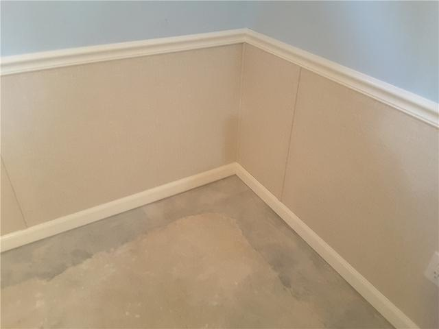 Damaged Drywall Replaced with Half-Wall Restoration in Kirkwood, Missouri