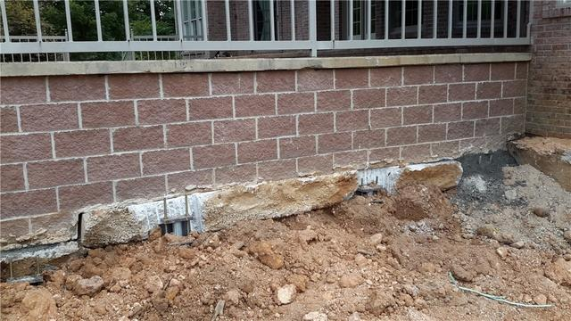 Severely Failing Foundation Stabilized in Williamsville, MO