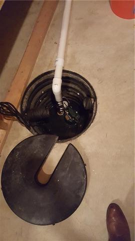 TripleSafe Sump Pump Replaces Old Wildwood, MO Pump