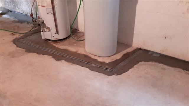 TrenchDrain Installed In Moro, Illinois