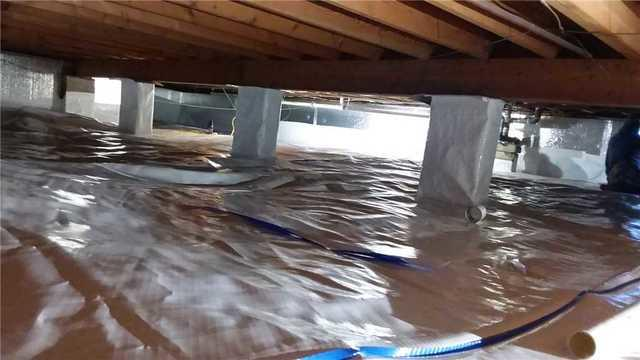 CleanSpace Crawl Space Encapsulation System Installed in Atwood, Illinois