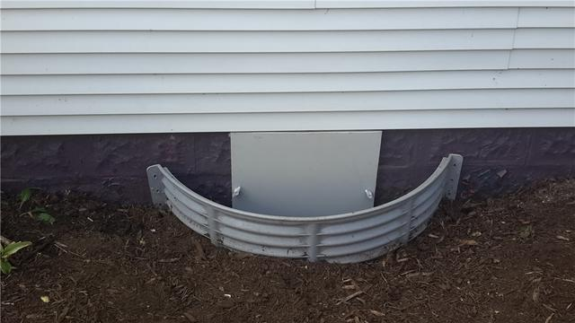 EverLast Door Installed in Sidell, Illinois Crawl Space